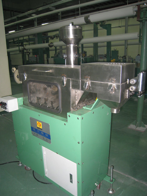 100W Filtrating Powder Machine for Turbine Steering Type Plastic Extrusion Machine