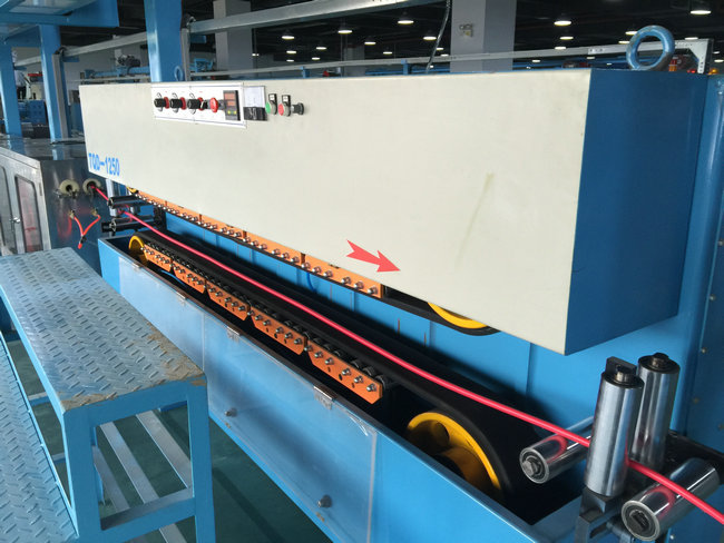 Insulated Sheathed Plastic Extrusion Line for 90mm Screw Extruder