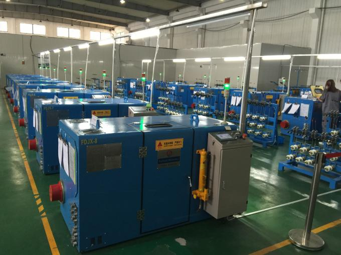 PLC Control Copper Wire Twisting Machine for Stranding Ultra Conductor