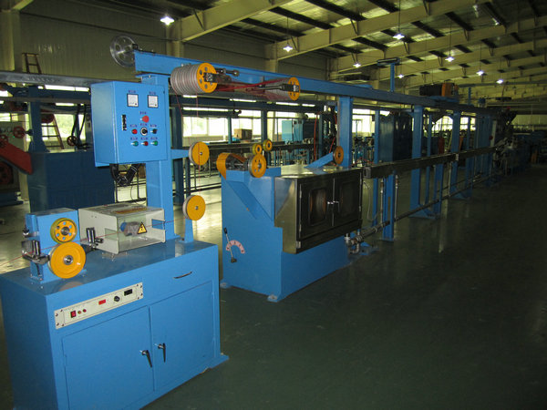 Photovoltaic 50 Cable Extrusion Line Non - Halogen Flame Resistant