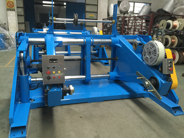 Core Wire Extruder Machine Passive Type Pay Off 1600mm