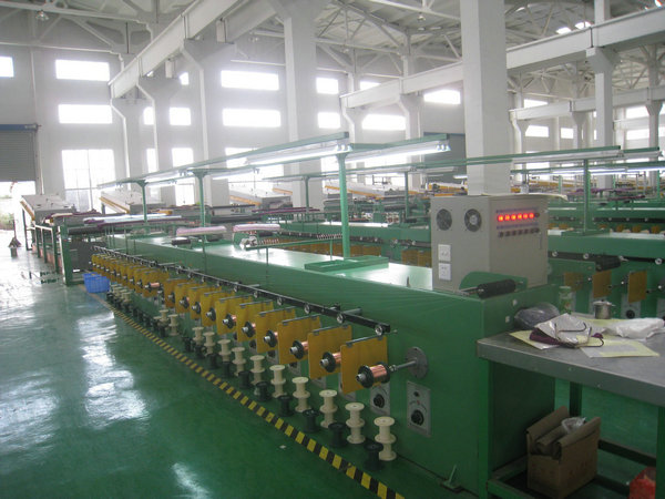 Round Copper Wire Annealing Machine Sky Blue With Water Seal Protection