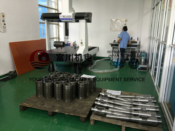 Brush Pay Off Round Copper Cable Coiling Machine With Hot Dip Tinned Mehod
