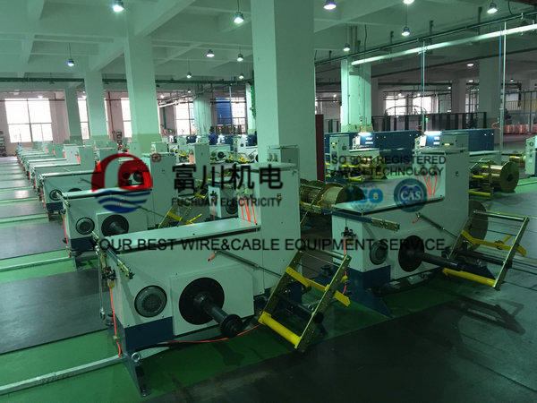 Apple Green Copper Automatic Wire Twister / Cable Machinery With Touch Screen
