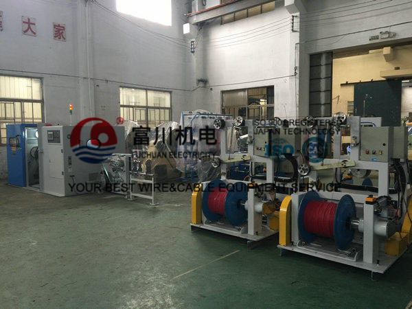 Tinned Wire Double Twist Bunching Machine / Twisting Machinery for Conductor