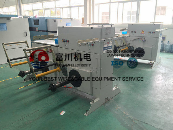 Low Noise Copper Wire Twisting Machine , Small Floor Place Cable Extrusion Line
