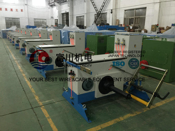 22kw Double Twist Bunching Machine For Core Wire , Normal Double Twist Buncher