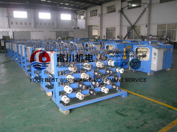 Double Head Copper Wire Twisting Machine For Cellphone , Ultra Conductor