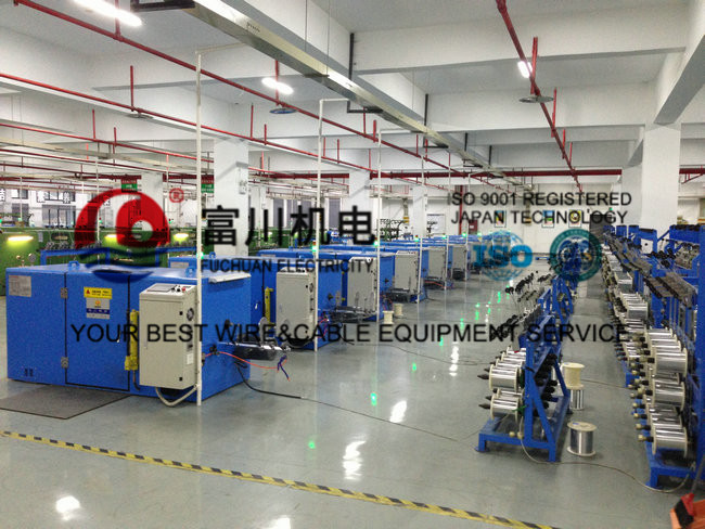 Silver Jacketed Copper Wire Processing Equipment With Electromagnetic Brake