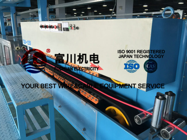 Extruding PVC PE Wire Extrusion Machine Easy Operation Wire Stranding Machine