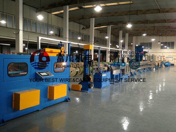 Cable Extrusion Machine For Automatic Wire Insulated Sheathing ...