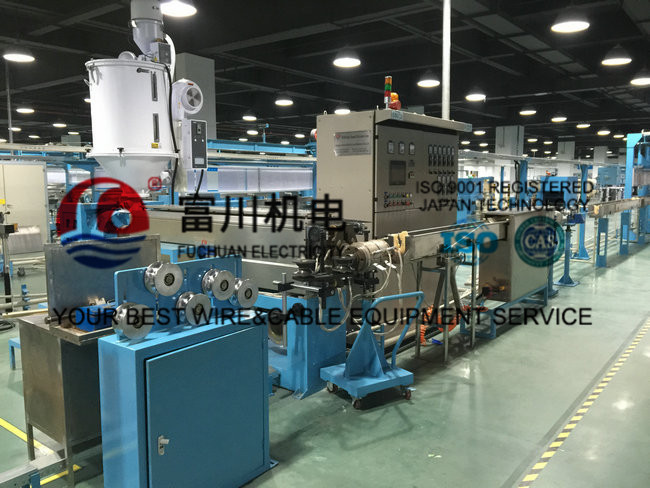 Automated Pvc Wire Making Machine / Silent Cable Wire Manufacturing Machines
