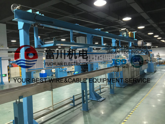200m/min Wire Extruder Machine For Insulated Wire , Sheathing And Construction Cable