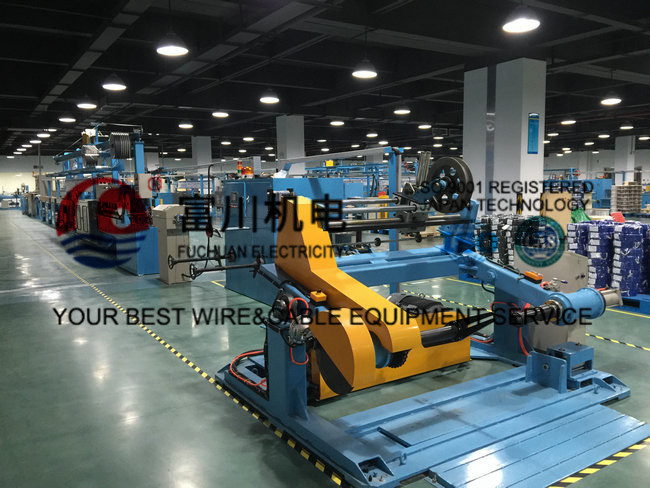 min Wire Extruder Machine For Insulated Wire , Sheathing And ...