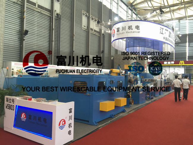 Fuchuan PP Plastic Extrusion Line Mainly For Automatic Wire Insulated and Sheathing