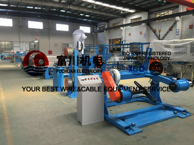 Automatic Wire Extruder Machine For PVC PP PE SR-PVC Plastic Extrusion Machine