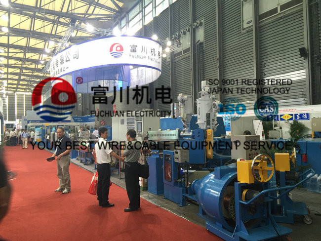 Fuchuan PVC Extrusion Machine , Wire Insulated And Sheathed Production Line