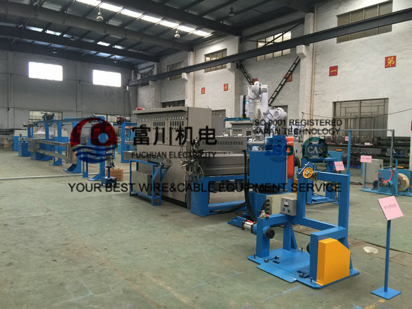 FPA F40 Plastic Extrusion Machine With Screw Dia 65mm Extrusion Output 45 KG/H